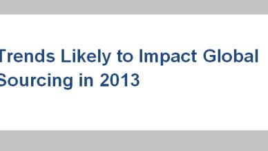 Global Sourcing Trends 2013
