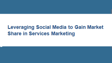 Social Media Marketing for Services Marketing