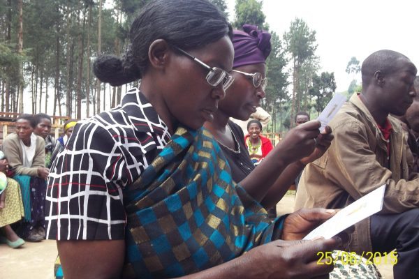 Women's group benefit from Obumwe loan