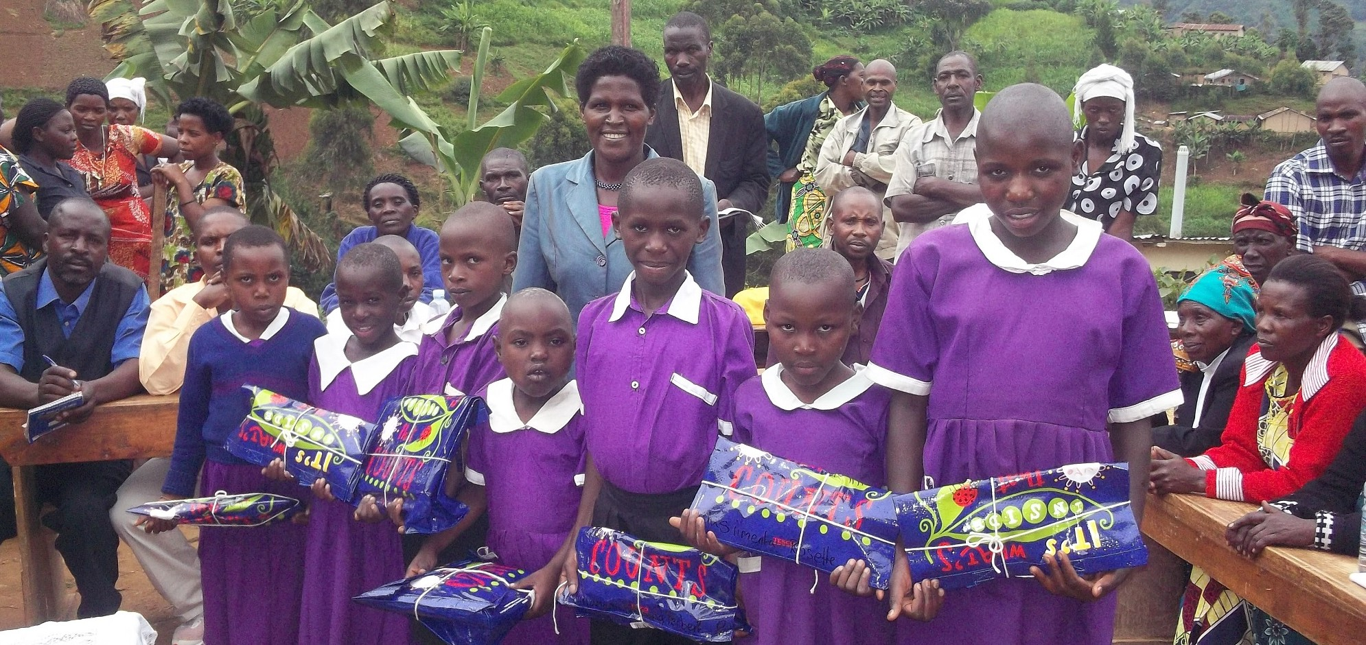 Sponsored child recieved gift
