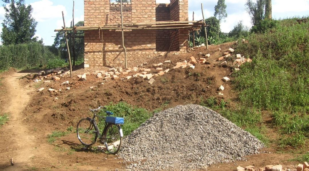 Halfway house storage construction