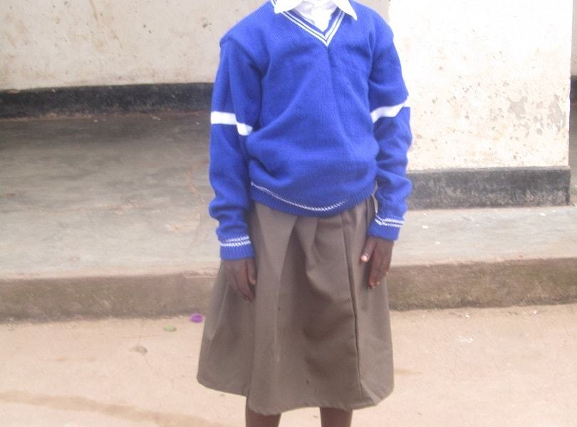 Child Sponsored for Primary education