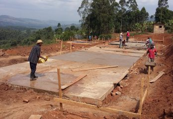 Foundation layer for the street children home
