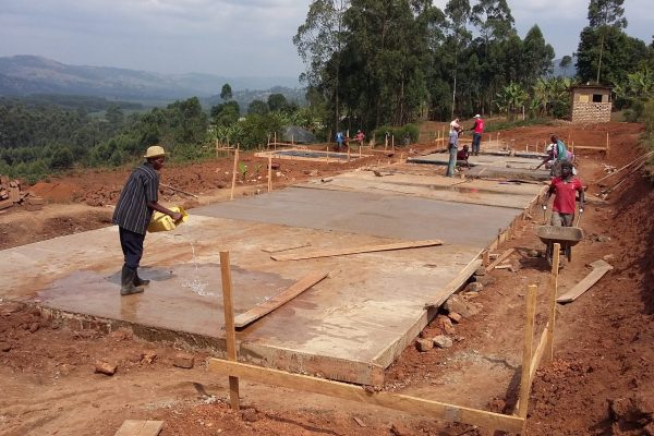 Impressive progress on the the street children residential center