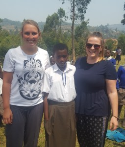 Ellese and Kerry have given their sponsored child a safe haven and the chance of a future