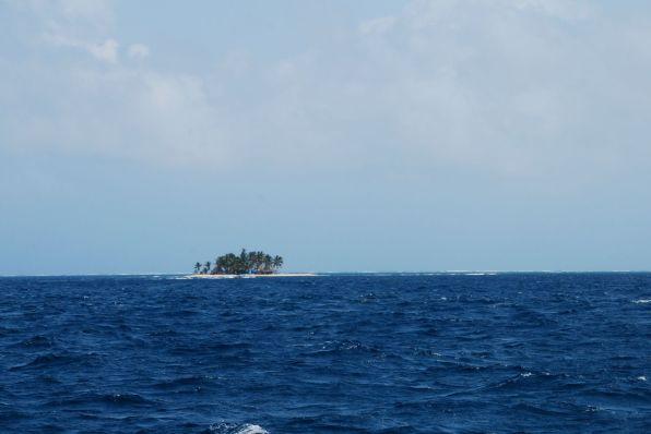 San Blas Paradies Insel