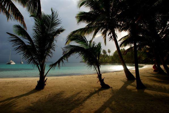 Sturmfront über den San Blas Inseln