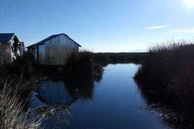 Schwimmendes Haus in Puno