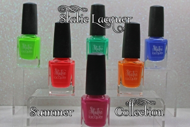 Say Hello to Static Lacquer: Summer Collection