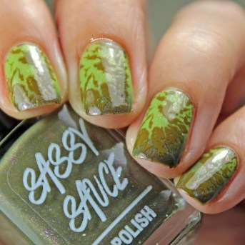 with Nail Art in Transition