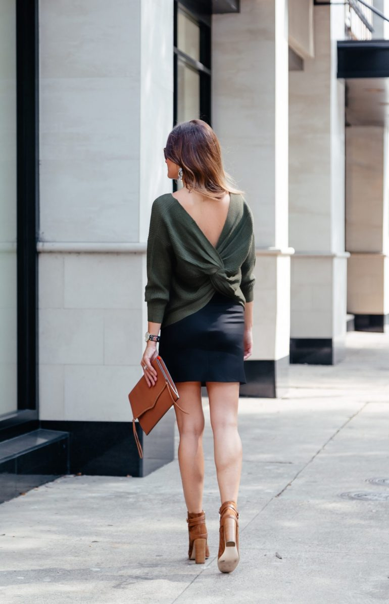back detail sweaters