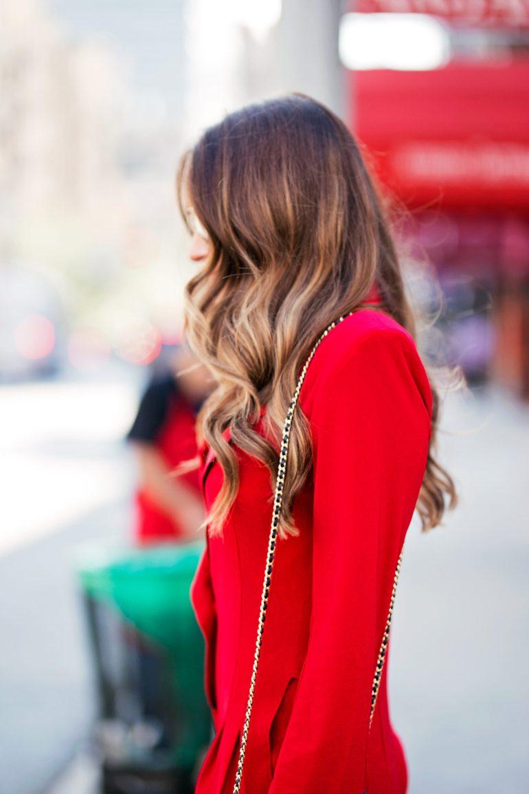 Red Color Crush via A Lo Profile