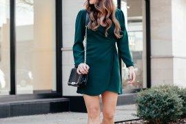 Little Green Party Dress via A Lo Profile