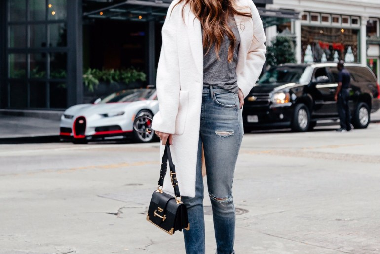 Dallas blogger sharing 15 closet staples and her essential clothing pieces you need in your wardrobe to get you through the winter months.