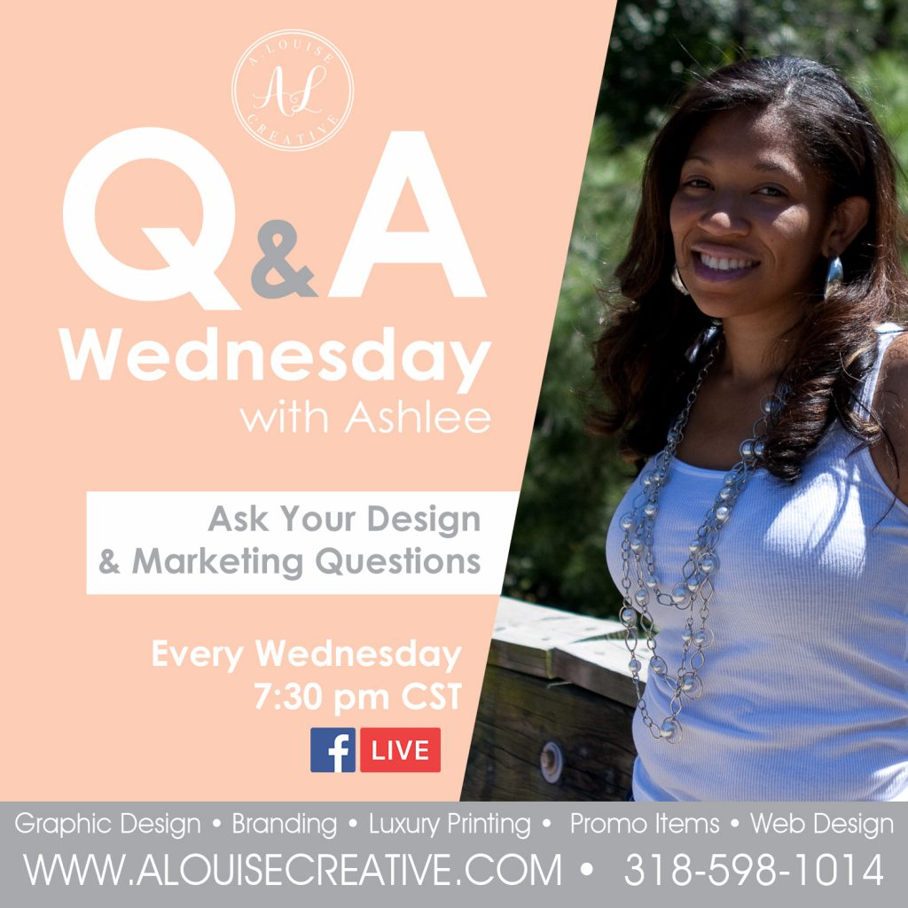 Q&A Wednesday with A. Louise Creative