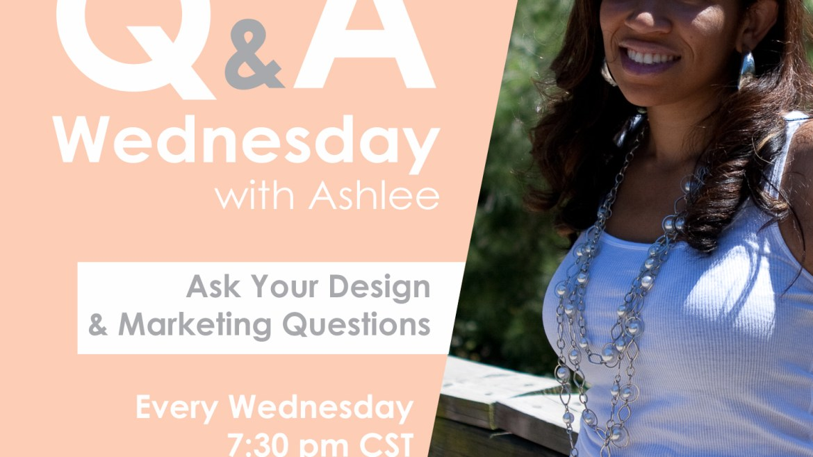 Q & A Wednesday with A. Louise!
