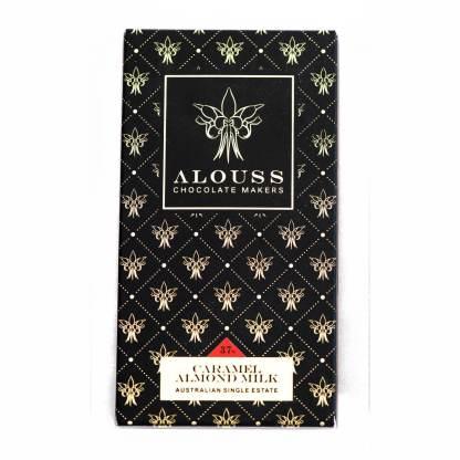 Alouss Caramel Almond Milk Chocolate Bar