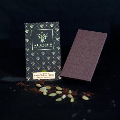 Coffee & Cardamom Milk Chocolate Bar