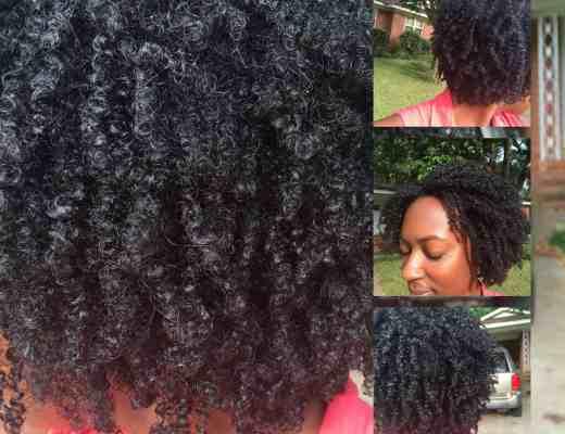 Wash an Go success the 4 natural hair