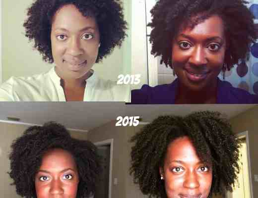 4 Years natural hair progress journey