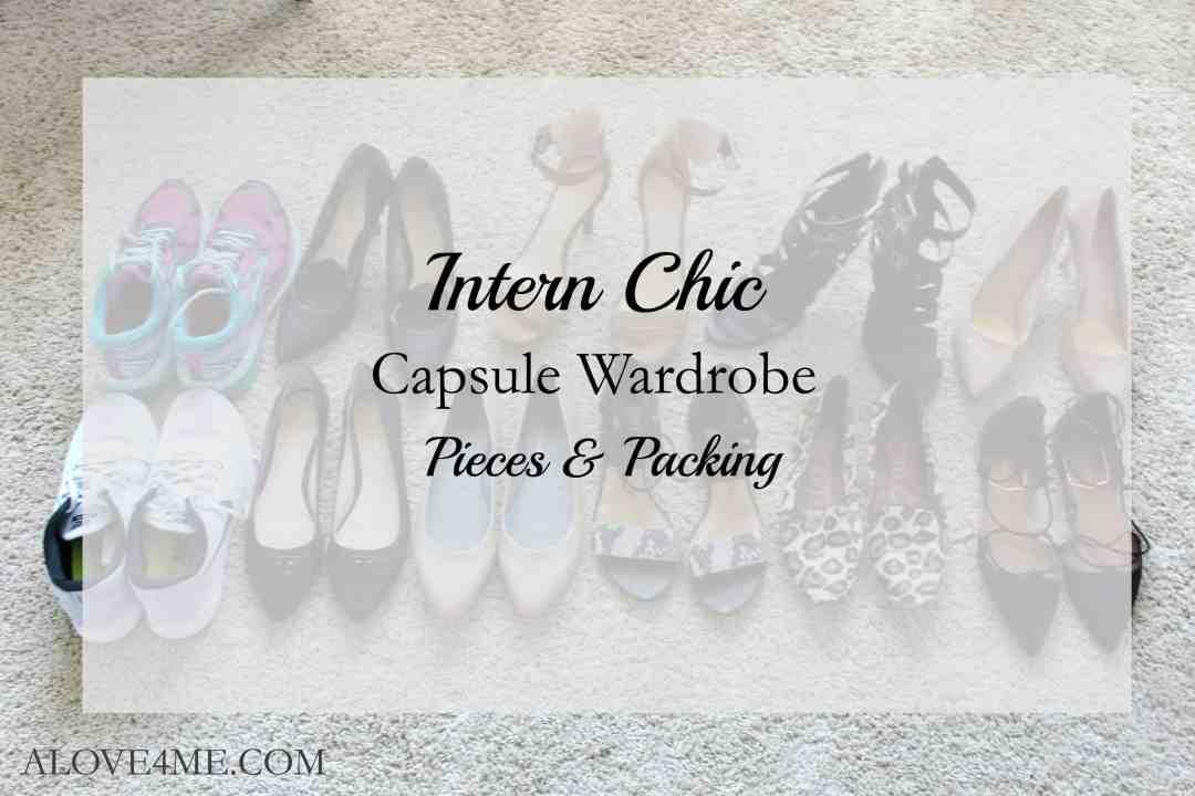 internship capsule wardrobe