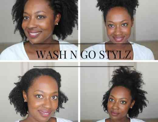wash n go styles natural hair