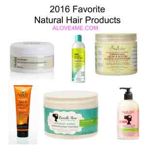 favorite natural hair products