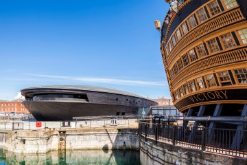 The Mary Rose Museum in the Portsmouth Historic Dockyard