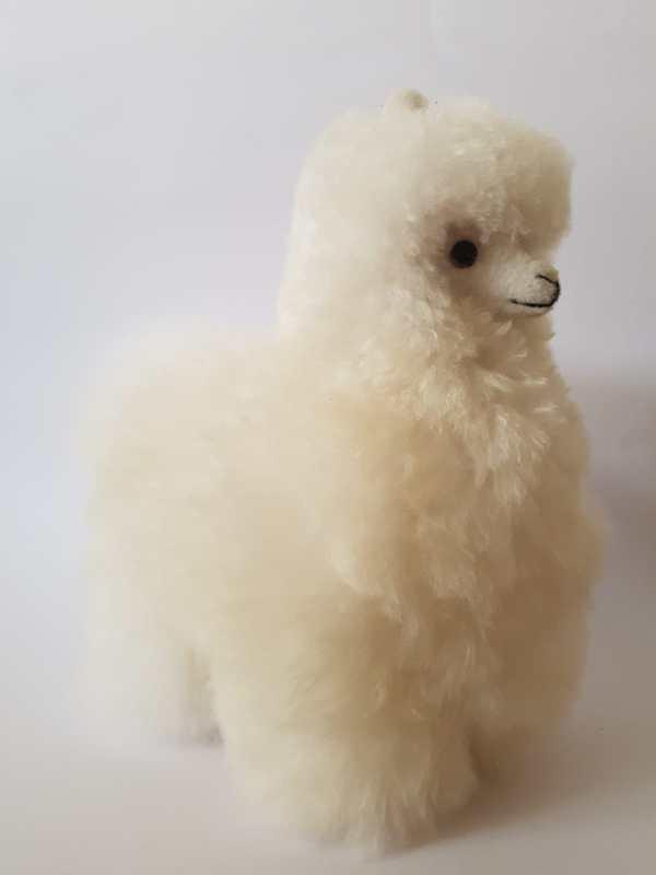 alpaca 30 cm wit baby