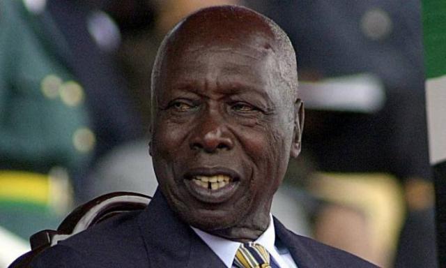 الرئيس الكينى الأسبق، دانيال أراب موى