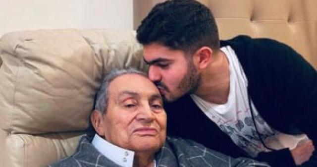 حفيد حسني مبارك