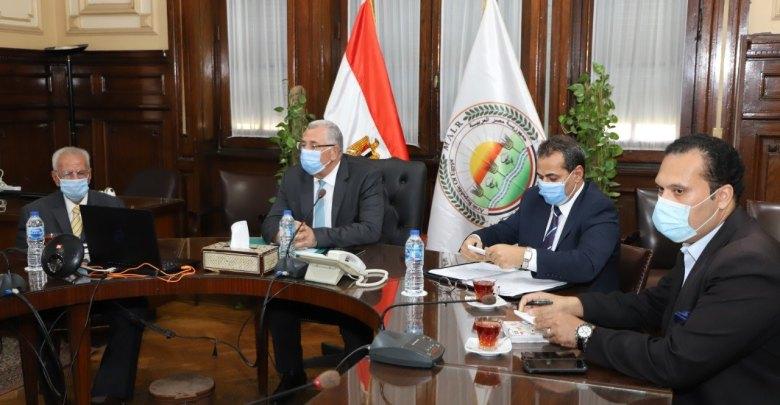 وزير الزراعة خلال المشاركة في فاعليات الاجتماع