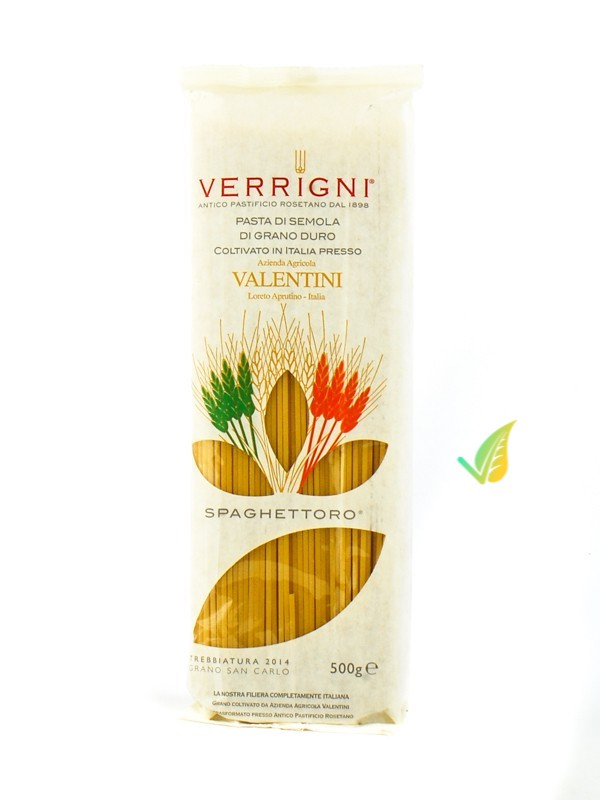 """Spaghettoro """"VV"""" Trafilato in Oro"""