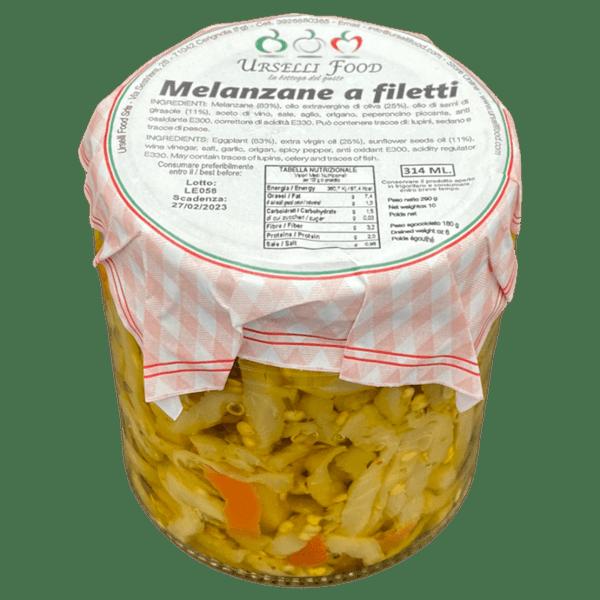 melanzane a filetti