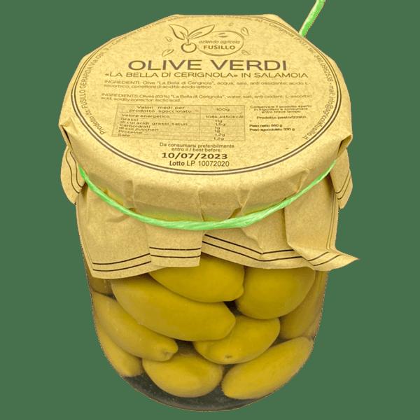 Olive verdi La Bella di Cerignola