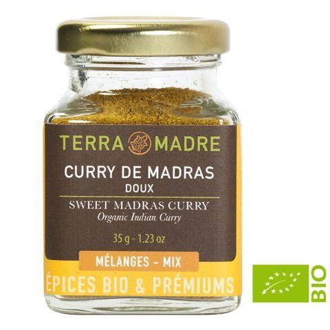 Curry di Madras Biologico