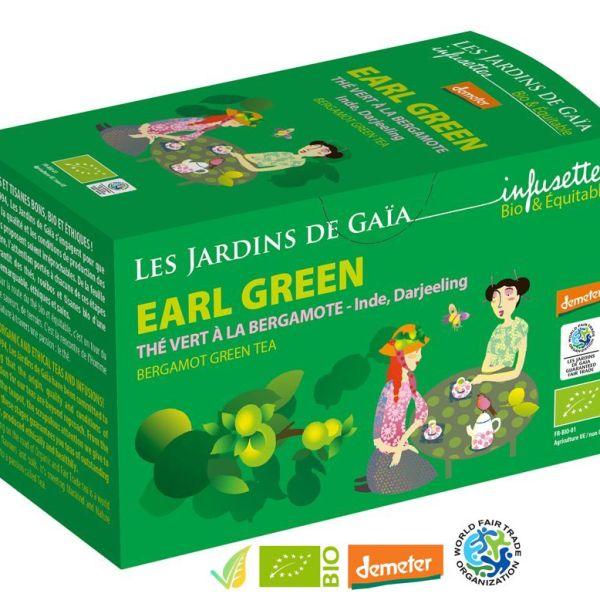 Tè Verde Earl Green al Bergamotto Demeter