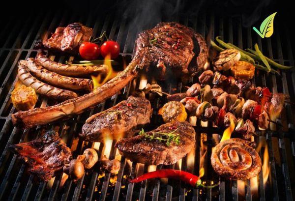 cassetta per barbecue