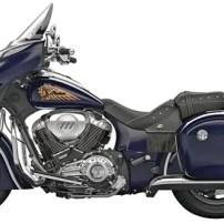 De Indian Chieftain is een zeer Amerikaanse motor.