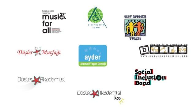 AYDER projeler logolar