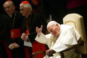Inauguration de l'exposition « S.S. Jean-Paul II imagines »