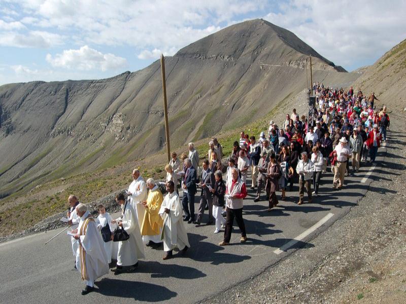 Pèlerinage à Notre Dame du Trés Haut