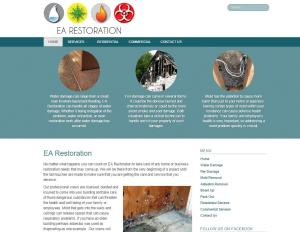 Recent Customers Review EA-Restoration Custom Small Business Website Design