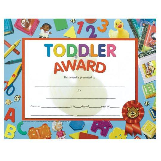 Toddler Award Alphabet U