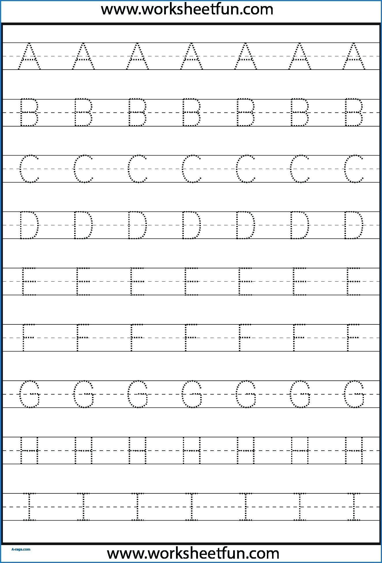 Grade 1 Alphabet Tracing Worksheets