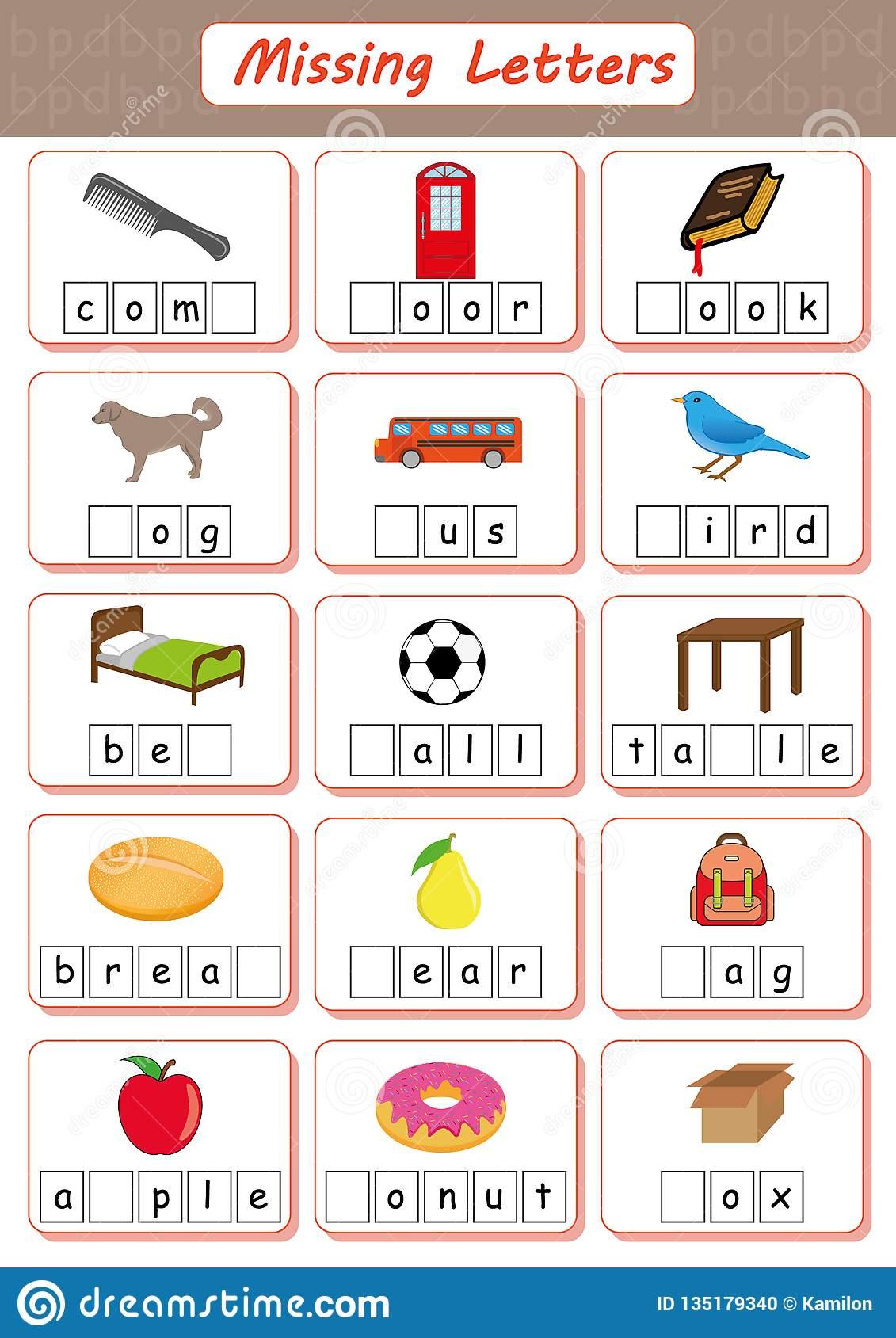 Alphabet Worksheets For Dyslexia