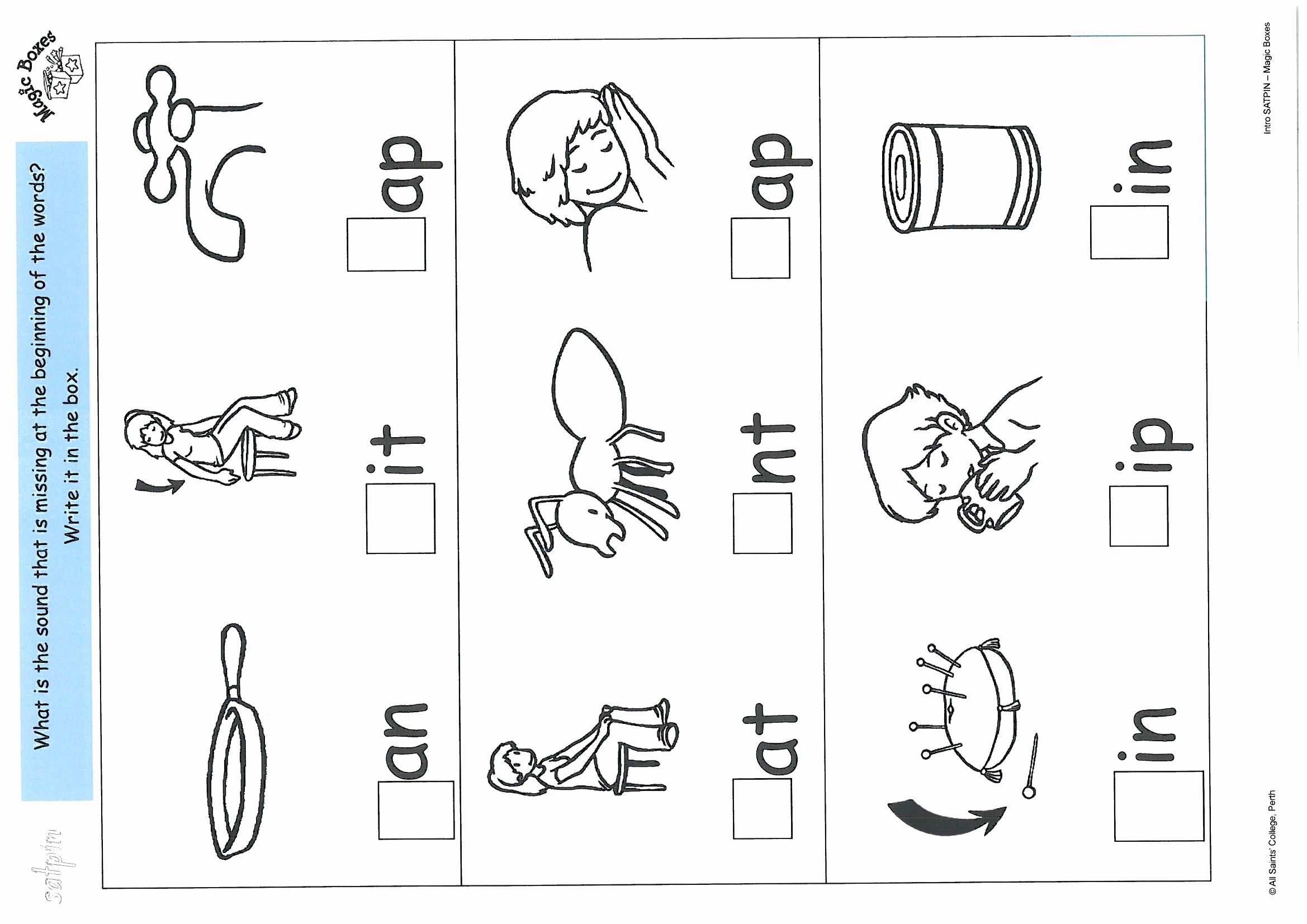 Alphabet Phonics Worksheets