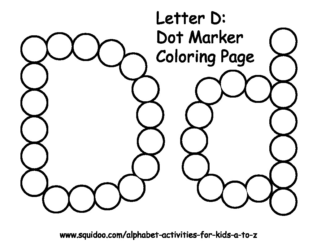 Alphabet Dauber Worksheets