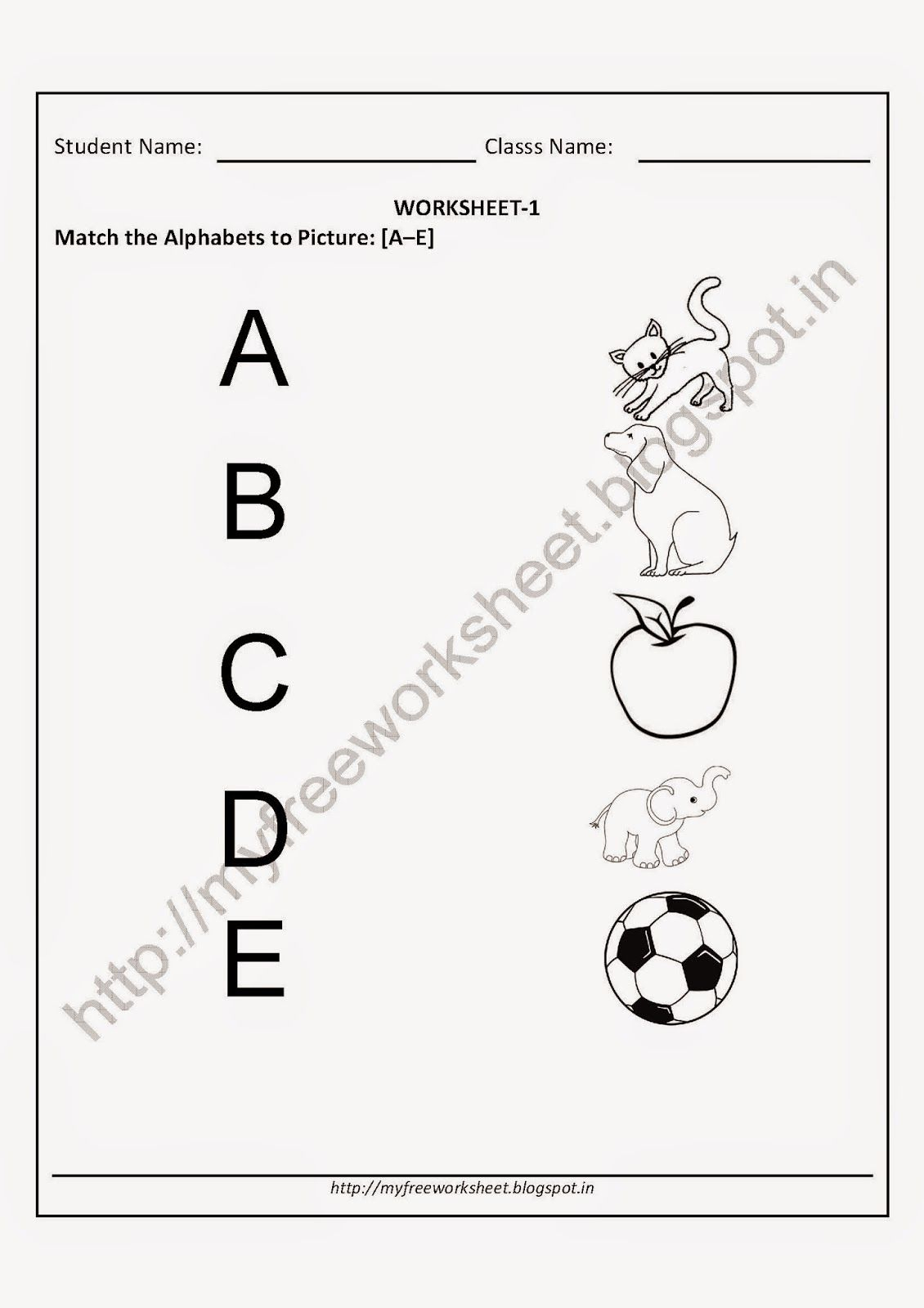 Letter T Worksheets For Kindergarten