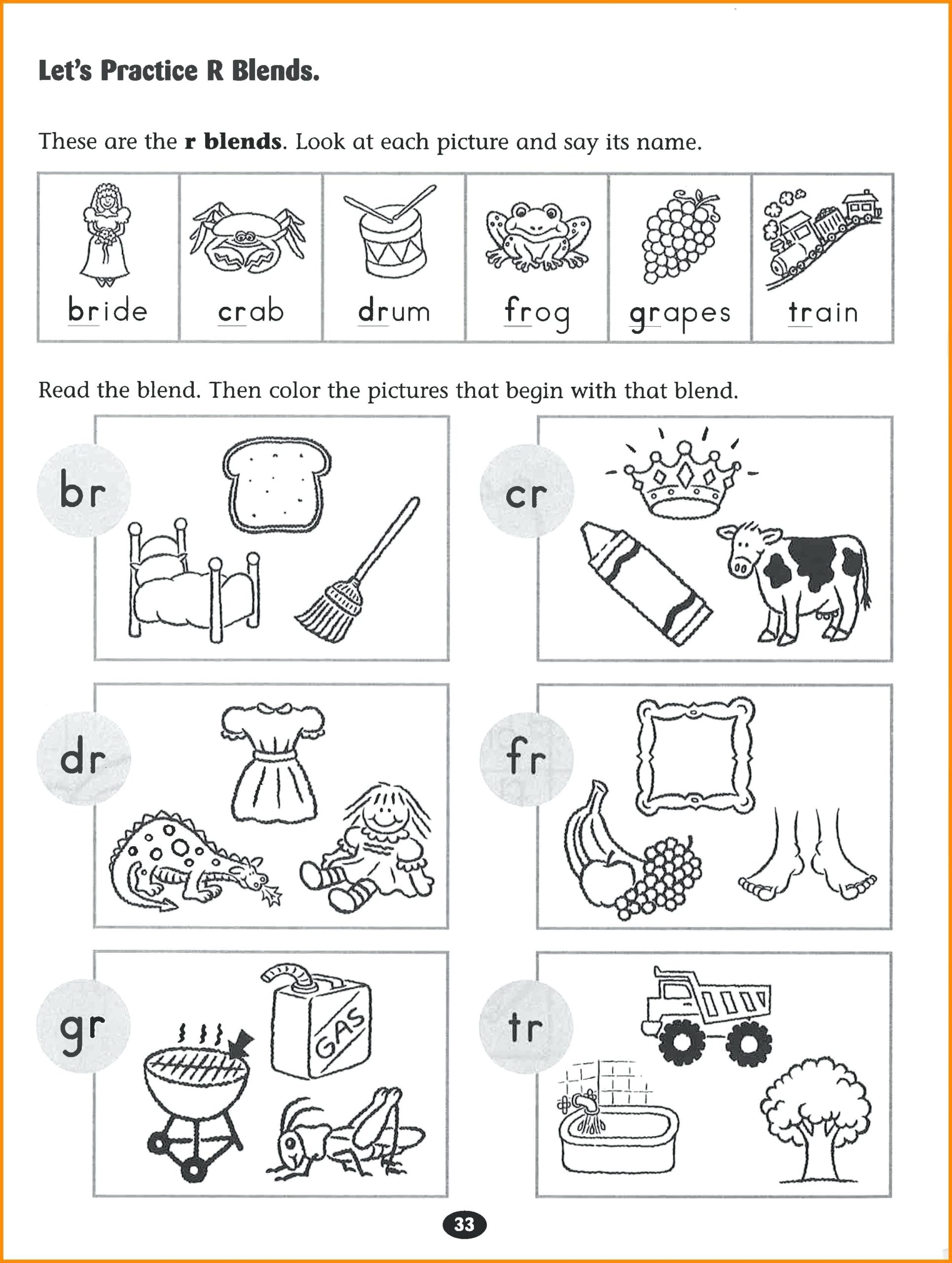 Alphabet Phonics Worksheets For Kindergarten